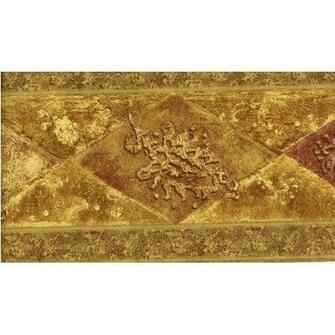 Norwall WD76847 Wallpaper Border Gold Pattern