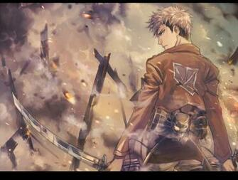 Titan Shingeki no Kyojin Anime HD Wallpaper Desktop PC Background 2118