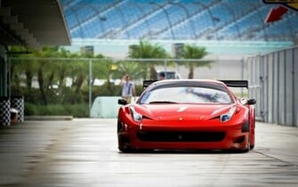 Daily Wallpaper Ferrari 458 Italia GT3 I Like To Waste My Time