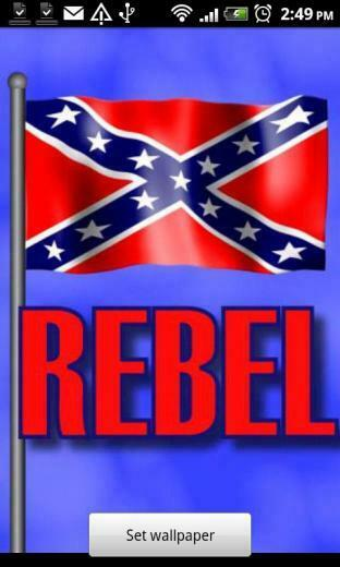 Related Pictures rebel flag live wallpaper