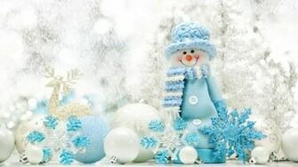 Cute snowman Wallpapers HD HD Desktop Wallpapers