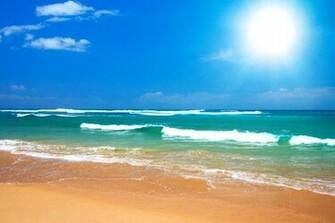 Desktop Wallpaper Beach Scenes To Warm Up Your Working Space