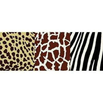 NGB94601 Multi Animal Print Border   Kenya   Brewster Wallpaper