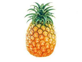 Her om sommeren er det nok bare at spise 2 skriver ananas om morgen