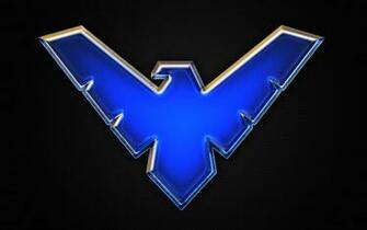 Nightwing logo Wallpaper by Benokil