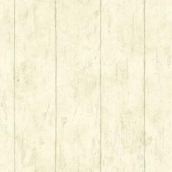 Reclaimed Cottage Cream Wood Wallpaper Bolt   Wallpaper   by Brewster