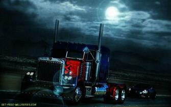 Download Optimus Prime Truck Transformers Wallpaper