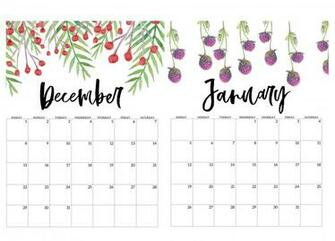 January 2020 Calendar Wallpapers   Top January 2020 Calendar