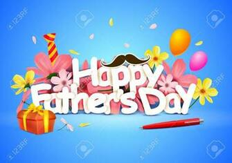 Happy Fathers Day Wallpaper Background Royalty Cliparts