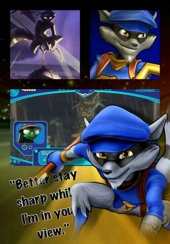 PSASBR Sly cooper wallpaper by Emeraldfire131