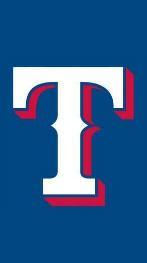 Texas Rangers logo Wallpaper