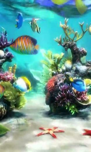 Download Aquarium 3 live wallpaper for your Android phone