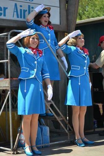Flight Attendants by Anime Ray