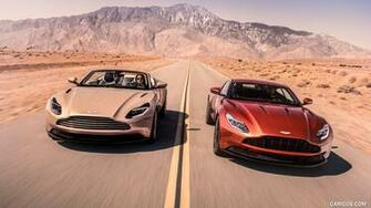2018 Aston Martin DB11 Volante and DB11 Coupe   Front HD