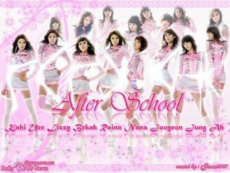After School Photo K Pop Wall K Pop Fans Website