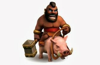 Clash Of Clans Barbarian King Wallpaper Although clash of clans is