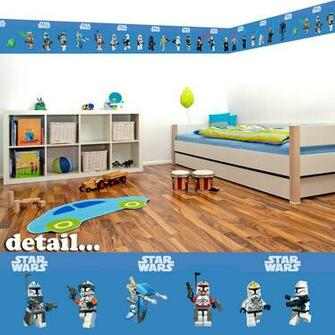 Details about Lego Star Wars Self Adhesive Decorative Wall Border   5