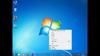 How to change desktop background wallpaper   Windows 7