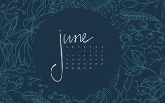 Desktop Wallpaper June 2016 Calendar Britt Fabello