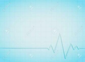Clean Medical And Healthcare Background With Heart Beat Royalty