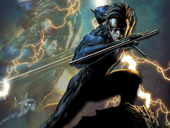 me this has got to be the coolest pic of nightwing i ve ever seen