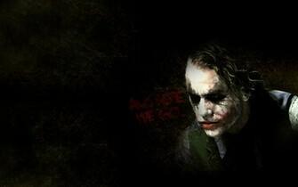 Joker Heath Ledger Background by GustavosDesign