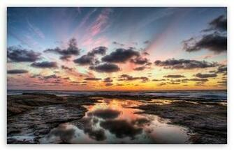 La Jolla Reflection HD wallpaper for Standard 43 54 Fullscreen UXGA