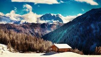 Ultra 4K Wallpaper 5 Winter nature in Tirol