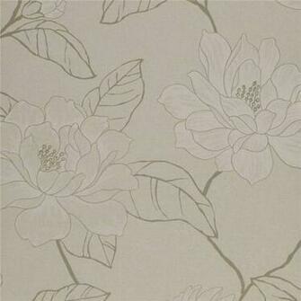White Grey Beige   75012   Florine   Amilie   Harlequin Wallpaper
