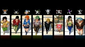 Download the One Piece anime wallpaper titled One Piece Pirates