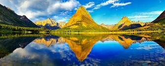 Glacier National Park Dual Monitor Wallpapers HD Wallpapers