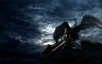 Gothic Angel Lady