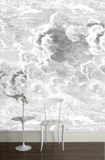 Fornasetti Clouds Wallpaper Wallpaper Pinterest