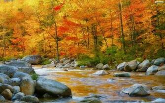 New Hampshire In Autumn Wallpaper   Wallpaperwallpapers