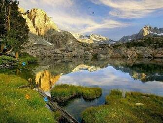 Lake Under The Mountain Screensaver The Best Screensavers Download