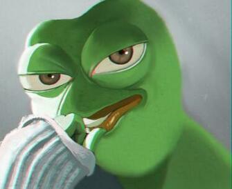 Rare Pepe by hinchen