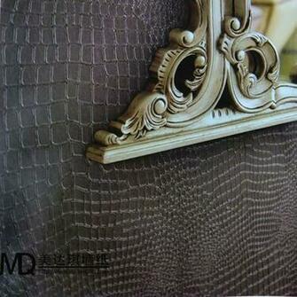 croc skin wall 2012 wallpaper brief modern faux leather embossed