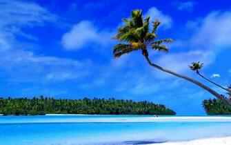 Caribbean Island Wallpaper