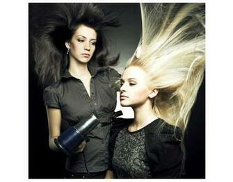 Hair Salon Wallpaper Fleece wall mural beauty salon