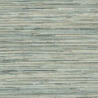Grasscloth Wallpaper Blue Sample   Feel to order a sample