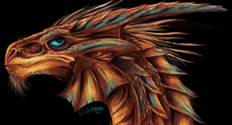 Copper Dragon 16 Background Wallpaper   Hivewallpapercom