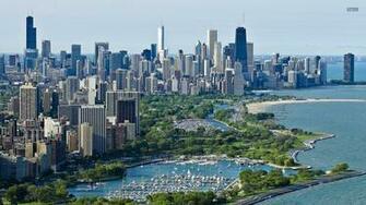 1920x1080 Pretty Chicago Harbor Illinois desktop PC and