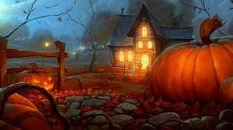 Pin Halloween 3d Desktop Wallpaper