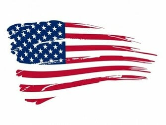United States of America USA Flag