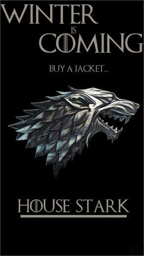 House Stark Game of Thrones IPhone Wallpaper by SttvUK