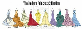 Modern Disney Princess Collection by MizzSamantha