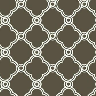 Brown White AP7488 Open Trellis Wallpaper   Contemporary Modern