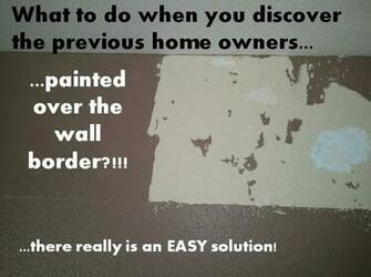 Anton Murals How to Remove a Wall Border the EASY Way