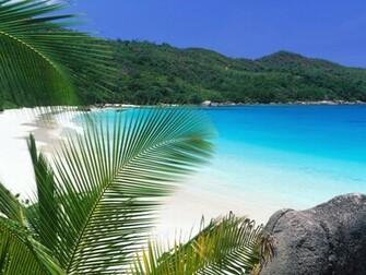 Tropical Beach Wallpaper Widescreen 1