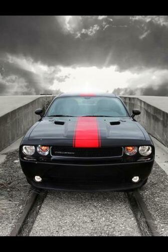 2012 Dodge Challenger Rallye Redline Front Iphone 4 wallpaper